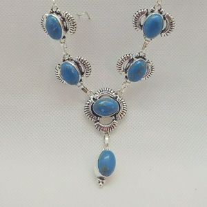 Turquoise 925 Sterling necklace